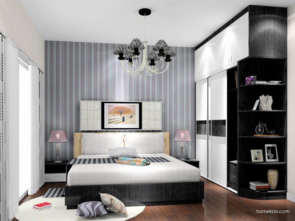 简约主义卧房家具A11080