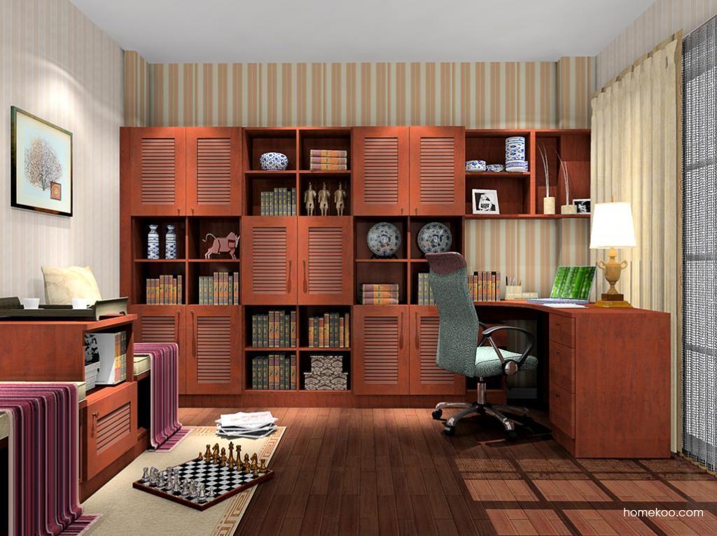 新中式主义书房家具C10512