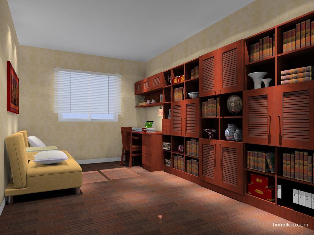 新中式主义书房家具C10517