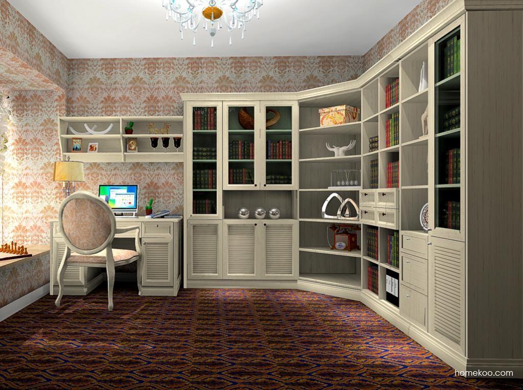 英伦印象书房家具C10521