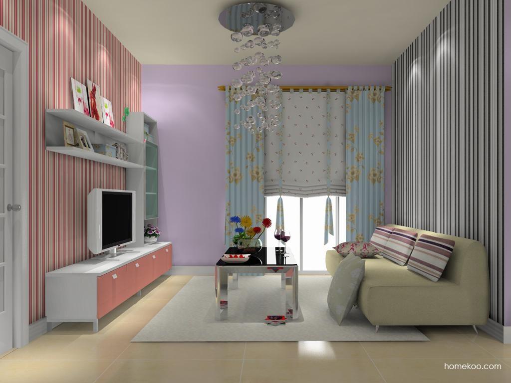 浪漫主义客厅家具D8564