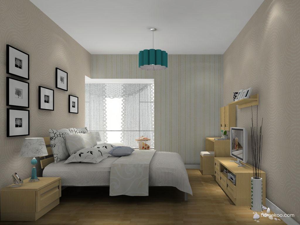 丹麦本色卧房家具A11128
