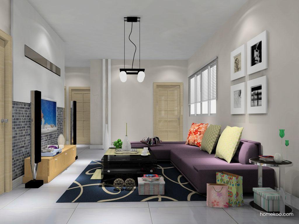 新实用主义客厅家具D8569