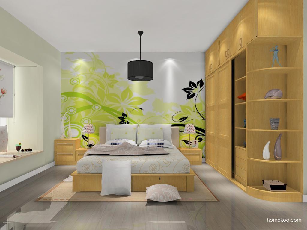 丹麦本色卧房家具A11165
