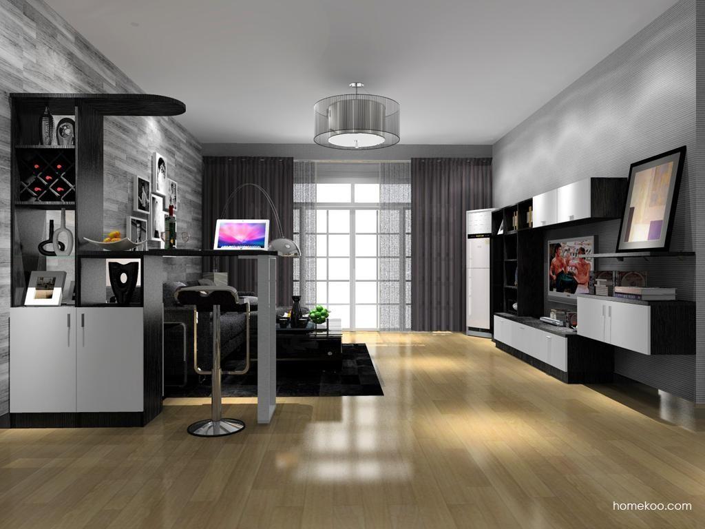 简约主义客厅家具D8607