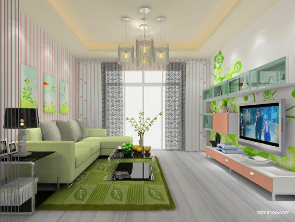 浪漫主义客厅家具D8611