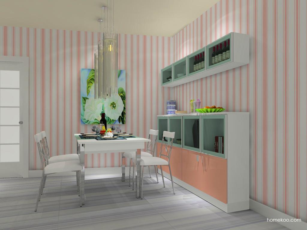 浪漫主义餐厅家具E8604