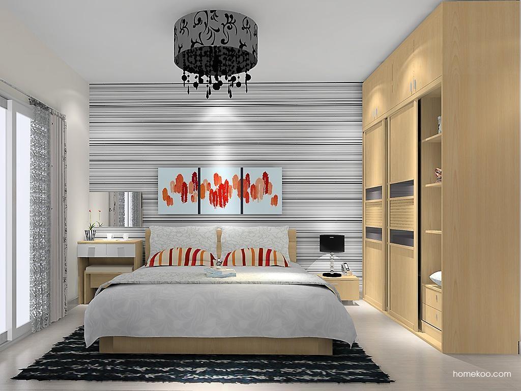 新实用主义卧房家具A11312