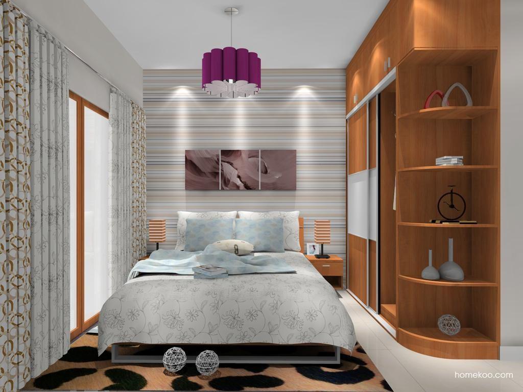 新实用主义卧房家具A11317