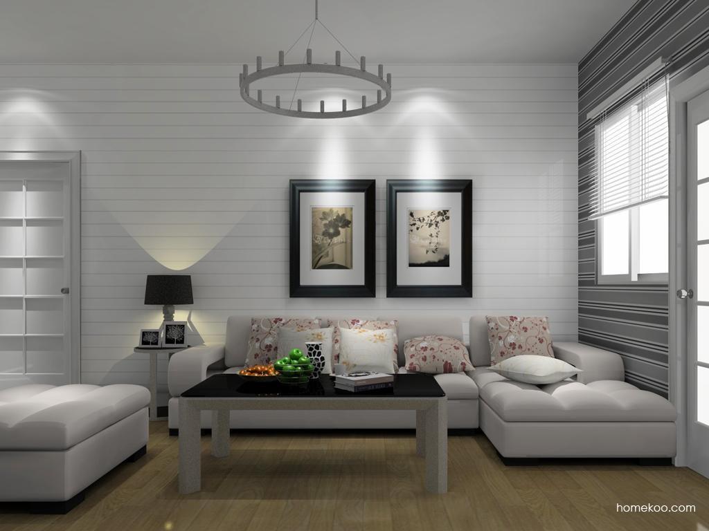 浪漫主义客厅家具D8615