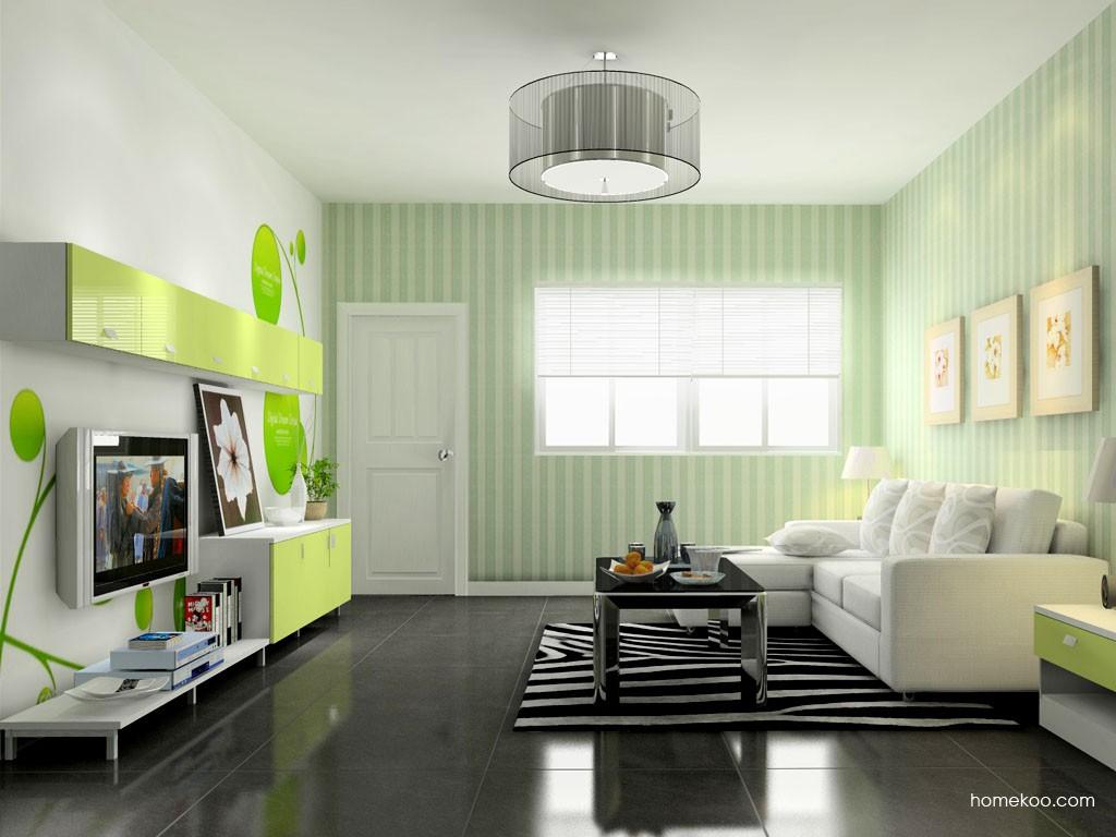 浪漫主义客厅家具D8620