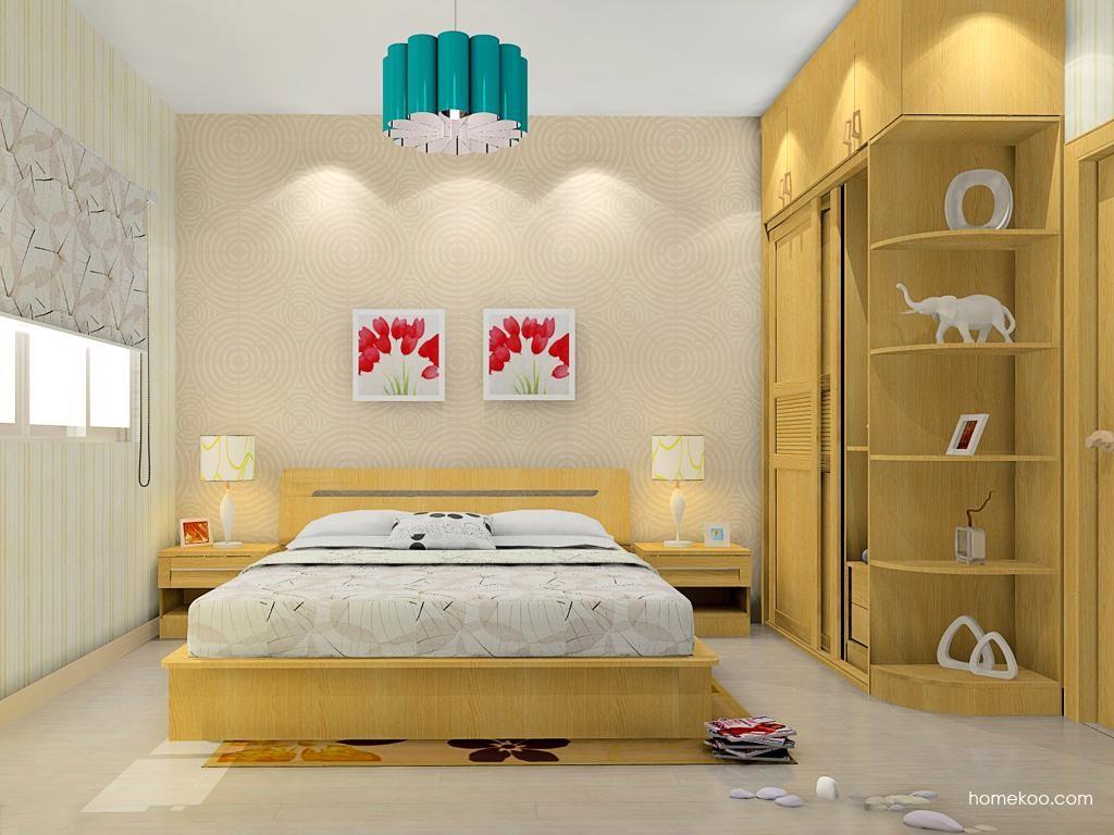 丹麦本色卧房家具A11339
