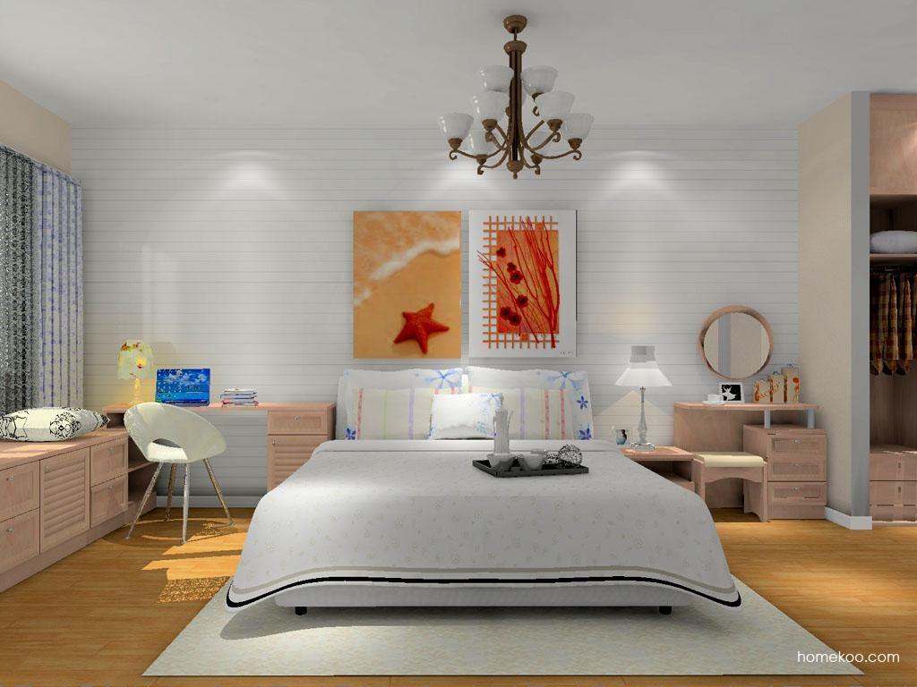 北欧阳光卧房家具A11357