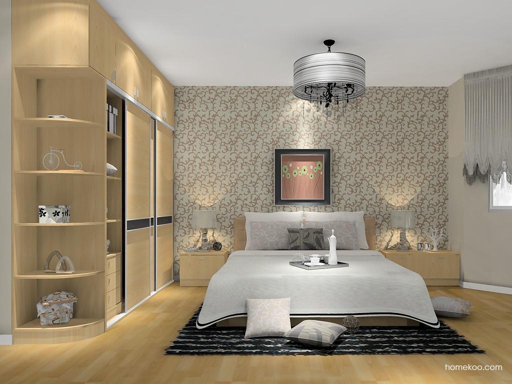 新实用主义卧房家具A11397