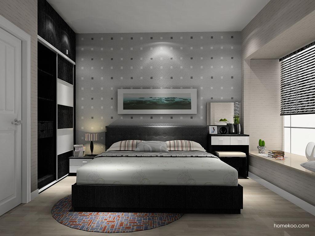 简约主义卧房家具A11424