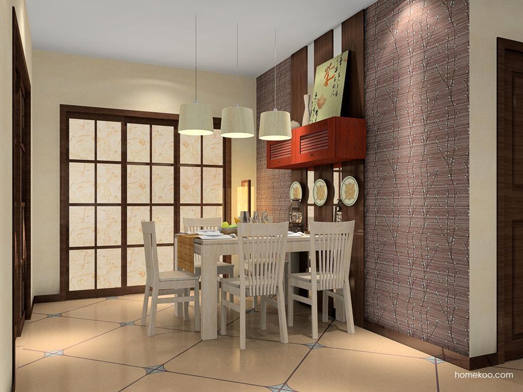 新中式主义餐厅家具E8647