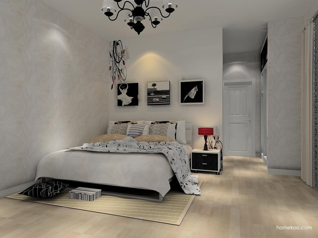简约主义卧房家具A11447