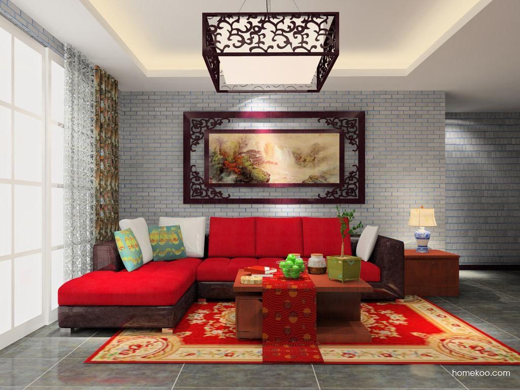 新中式主义客厅家具D8664