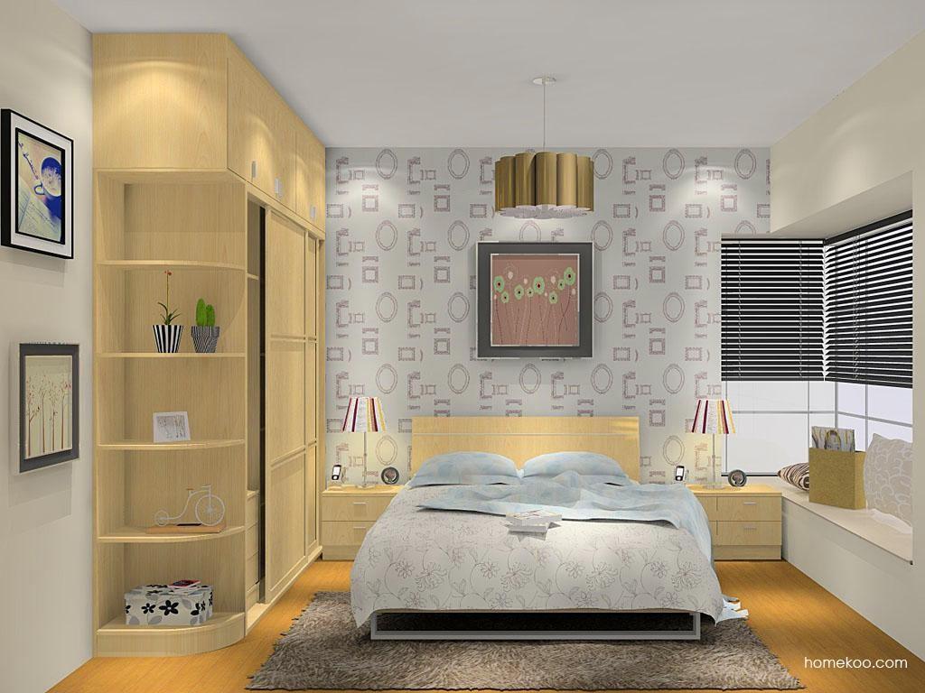新实用主义卧房家具A11474