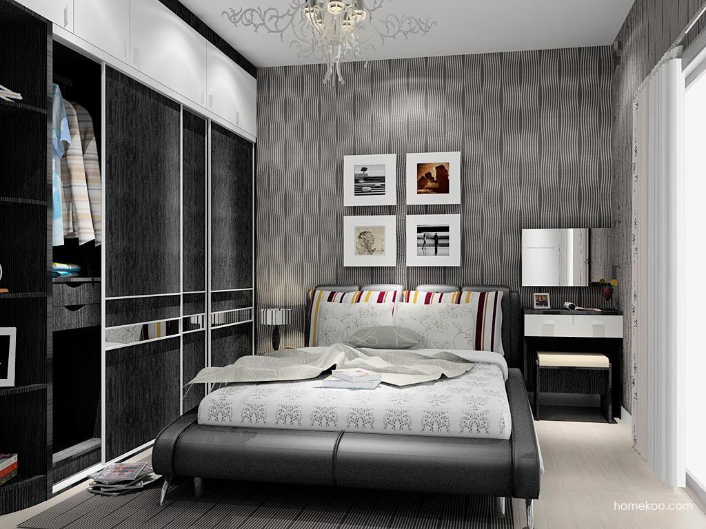 简约主义卧房家具A11481
