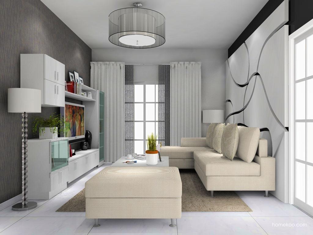 新实用主义客厅家具D8686