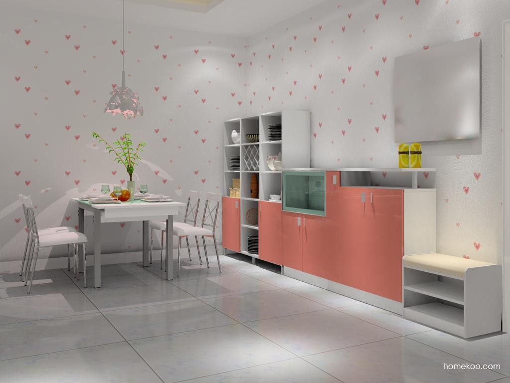 浪漫主义餐厅家具E8686