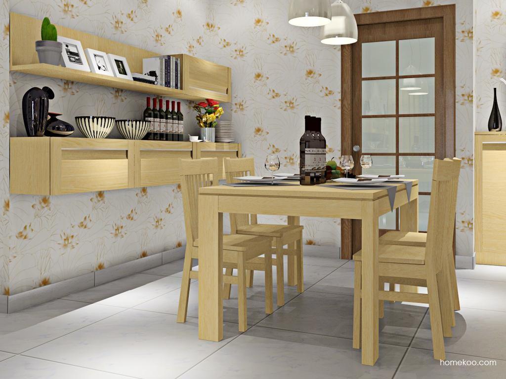 丹麦本色餐厅家具E8692