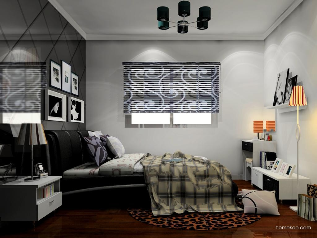 新实用主义卧房家具A11496