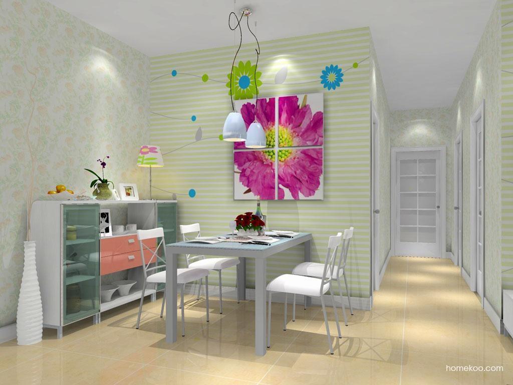 浪漫主义餐厅家具E8700