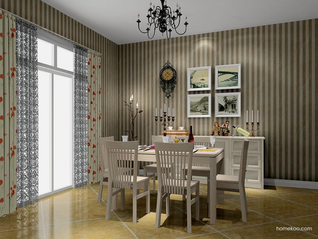 英伦印象餐厅家具E8704