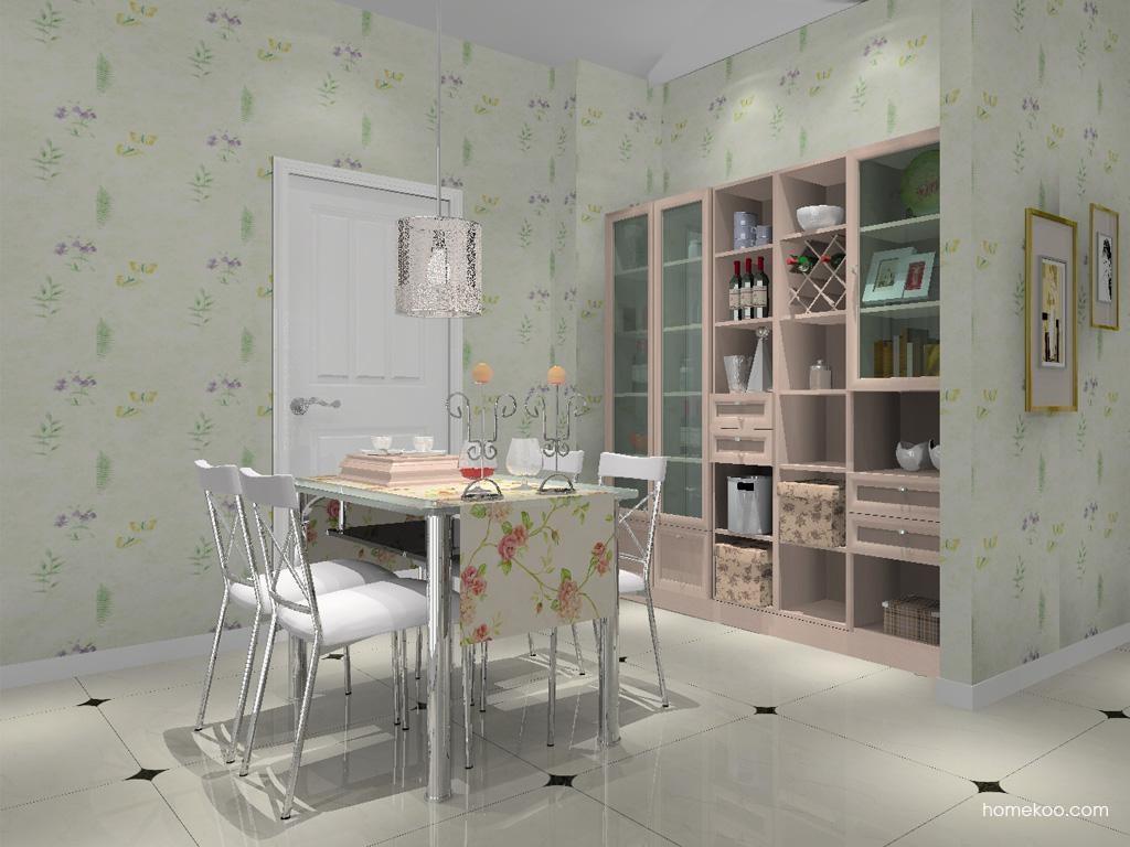 北欧阳光餐厅家具E8719