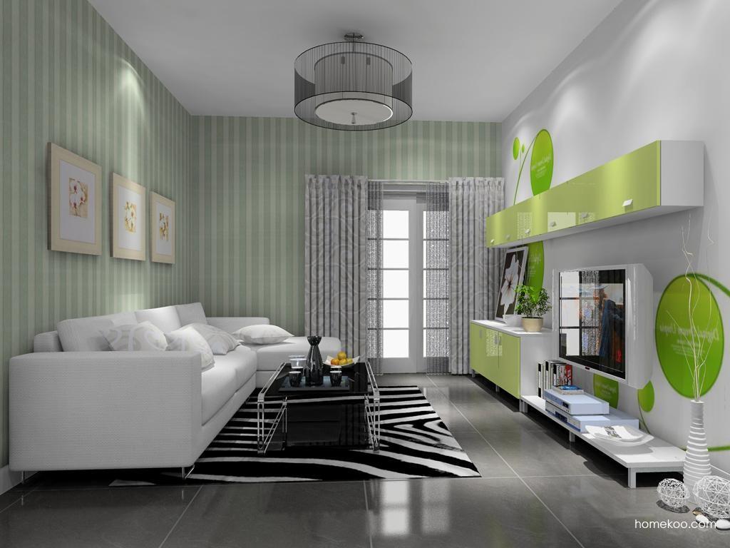 浪漫主义客厅家具D8727