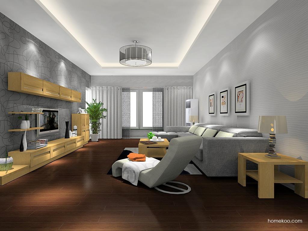 丹麦本色客厅家具D8728