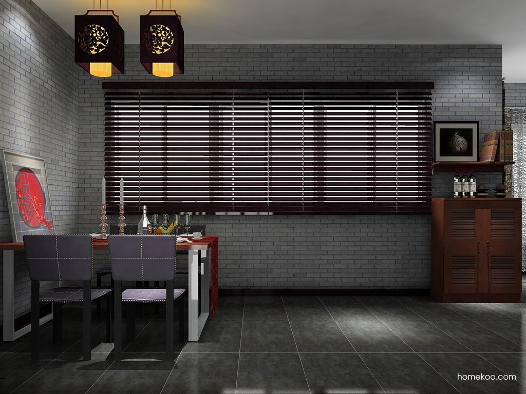新中式主义餐厅家具E8732