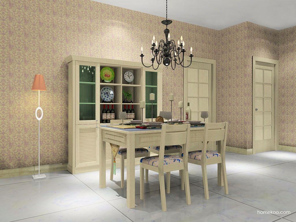英伦印象餐厅家具E8750