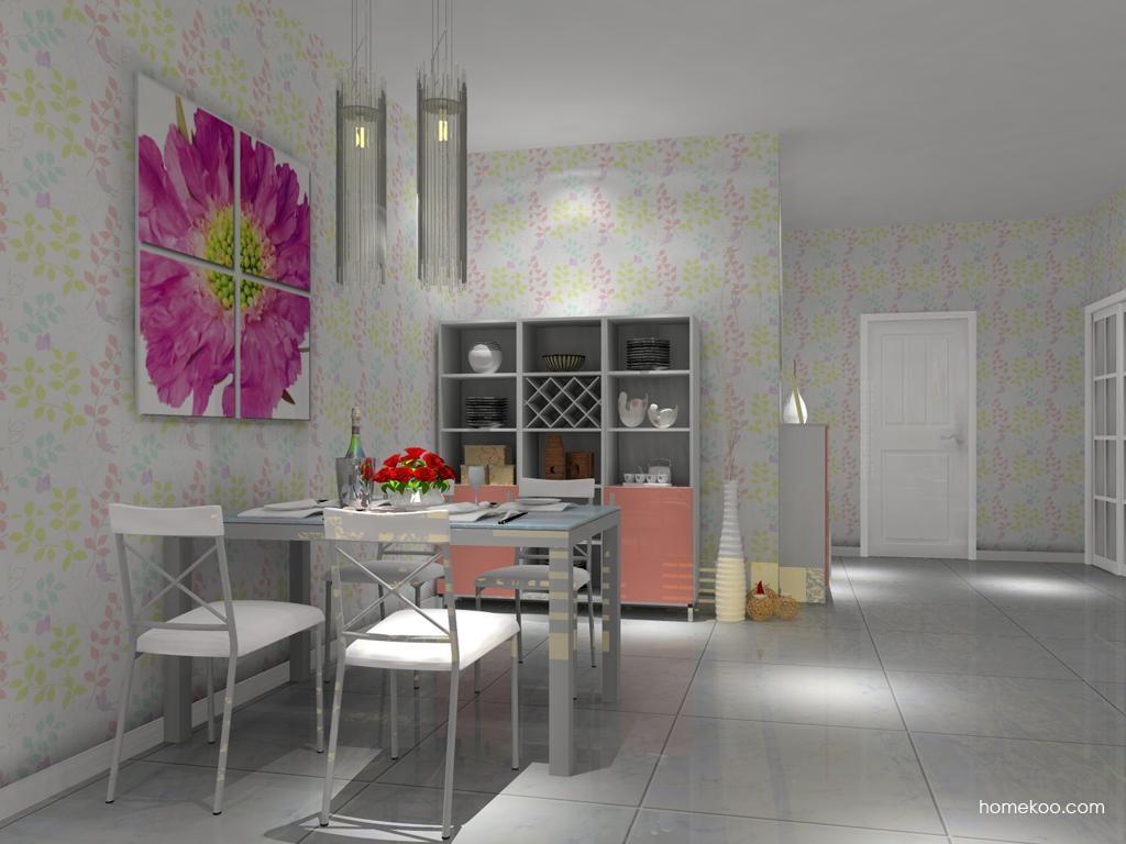 浪漫主义餐厅家具E8754
