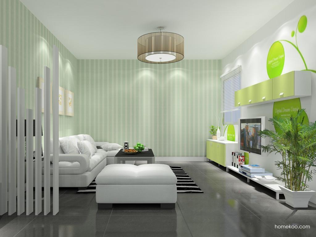 浪漫主义客厅家具D8774