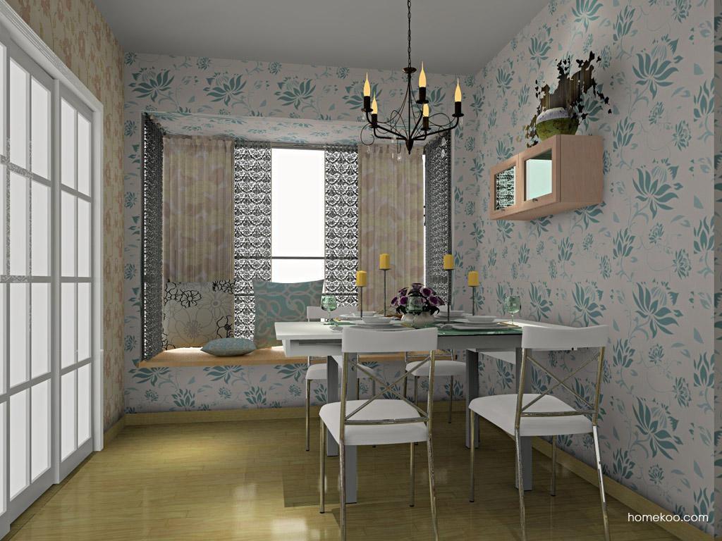 北欧阳光餐厅家具E8769
