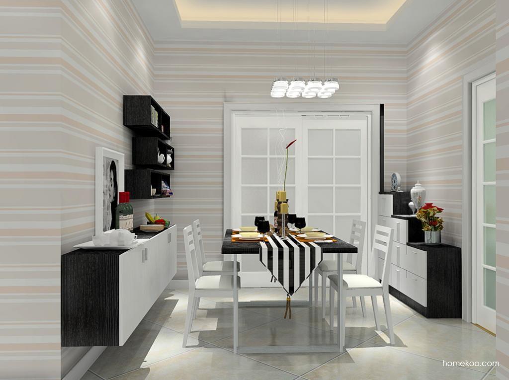 简约主义餐厅家具E8804