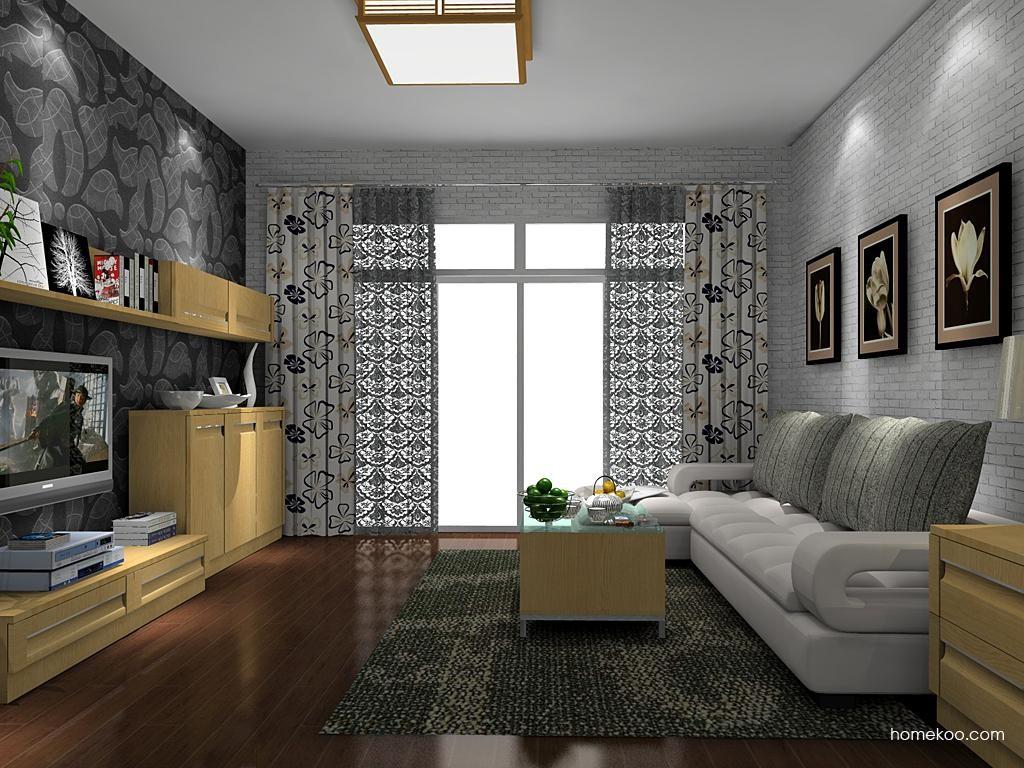 丹麦本色客厅家具D8831