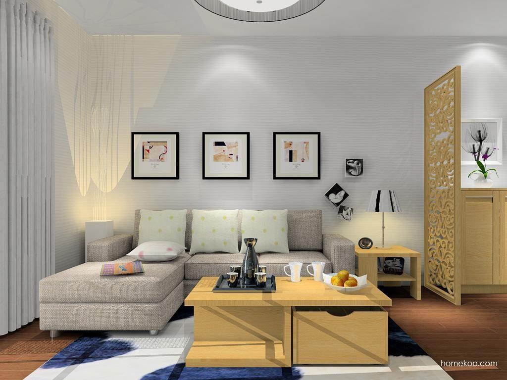 丹麦本色客厅家具D8843