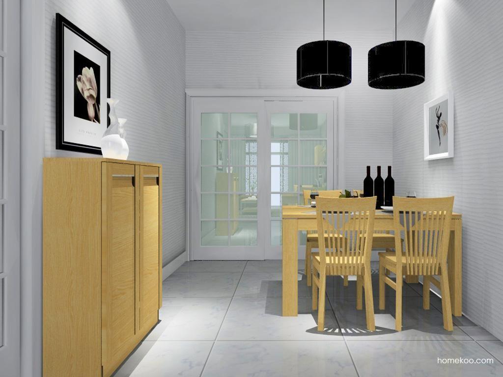 丹麦本色餐厅家具E8843