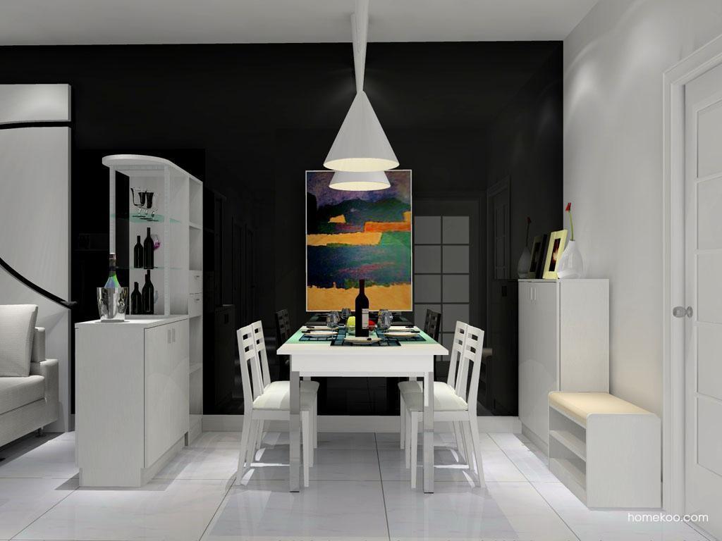 新实用主义餐厅家具E8848