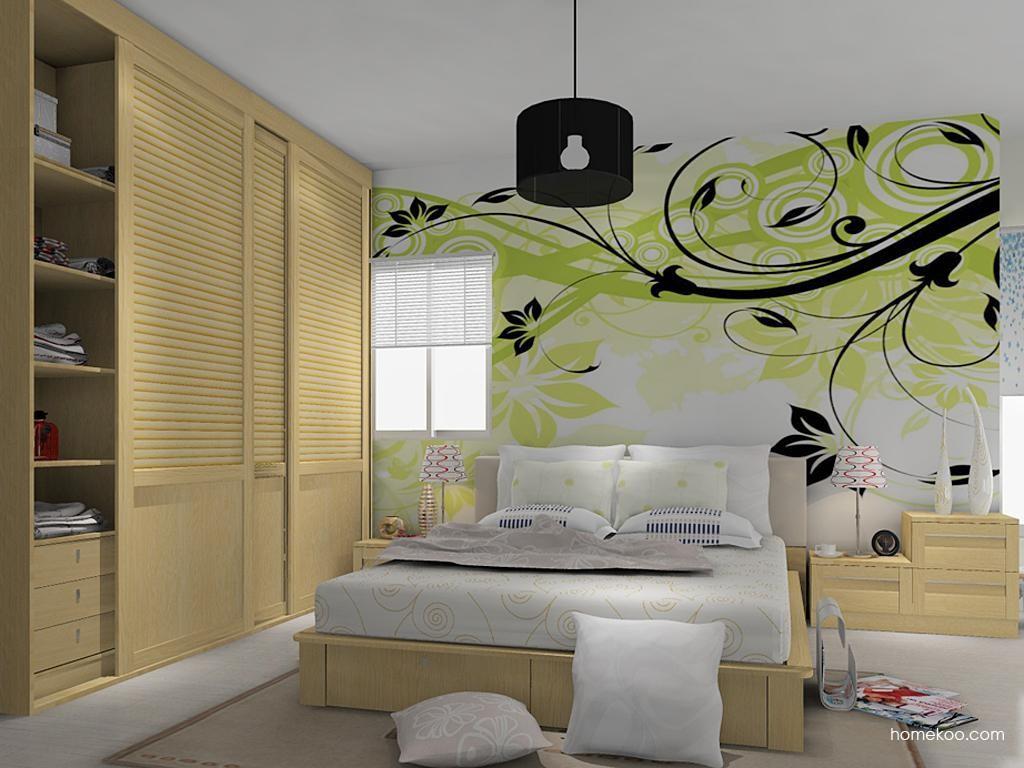 丹麦本色卧房家具A11648