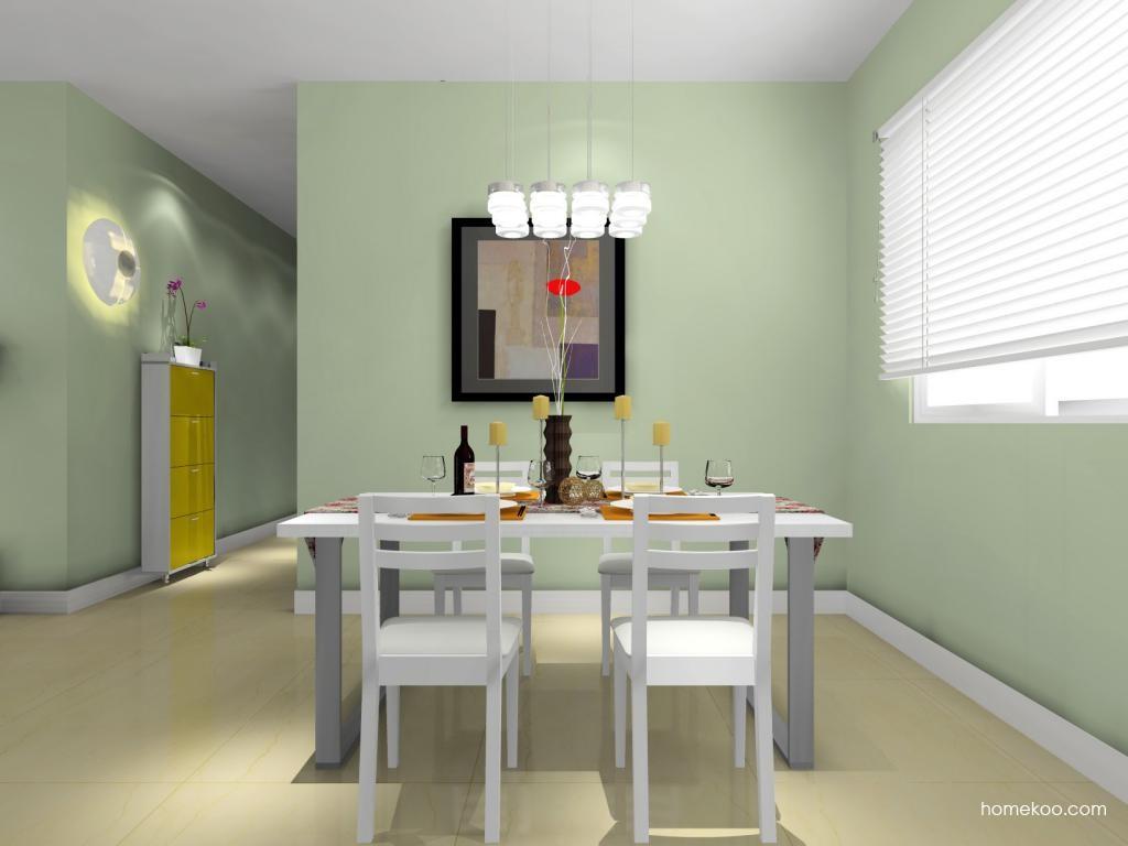 浪漫主义餐厅家具E8891