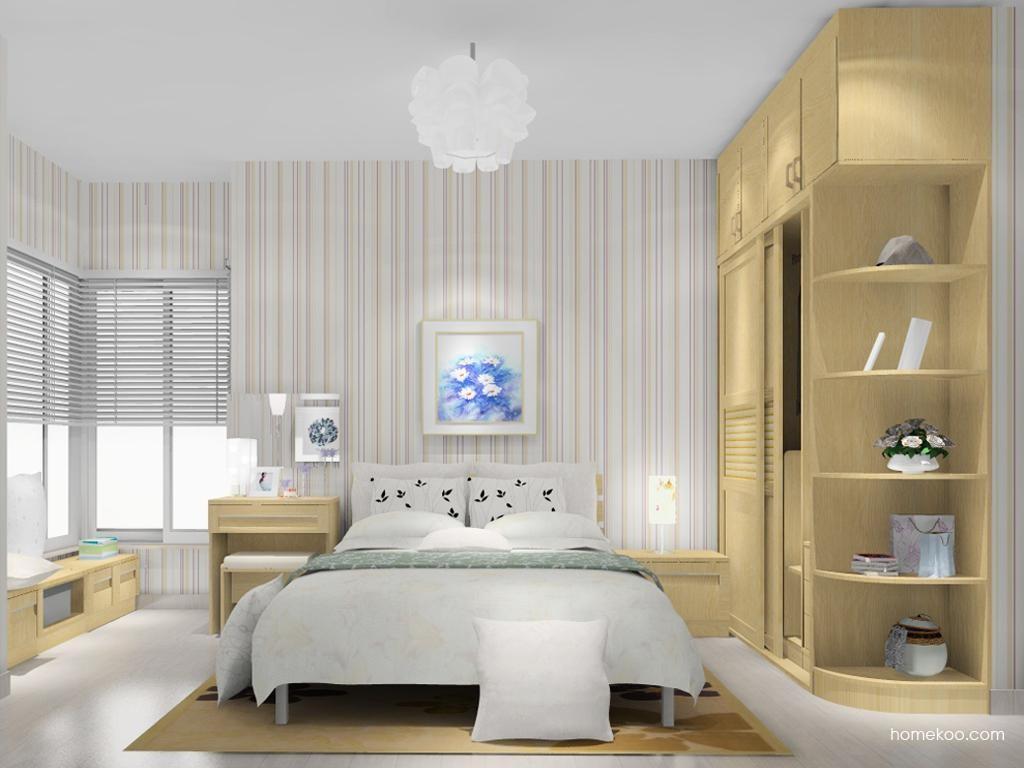 丹麦本色卧房家具A11692