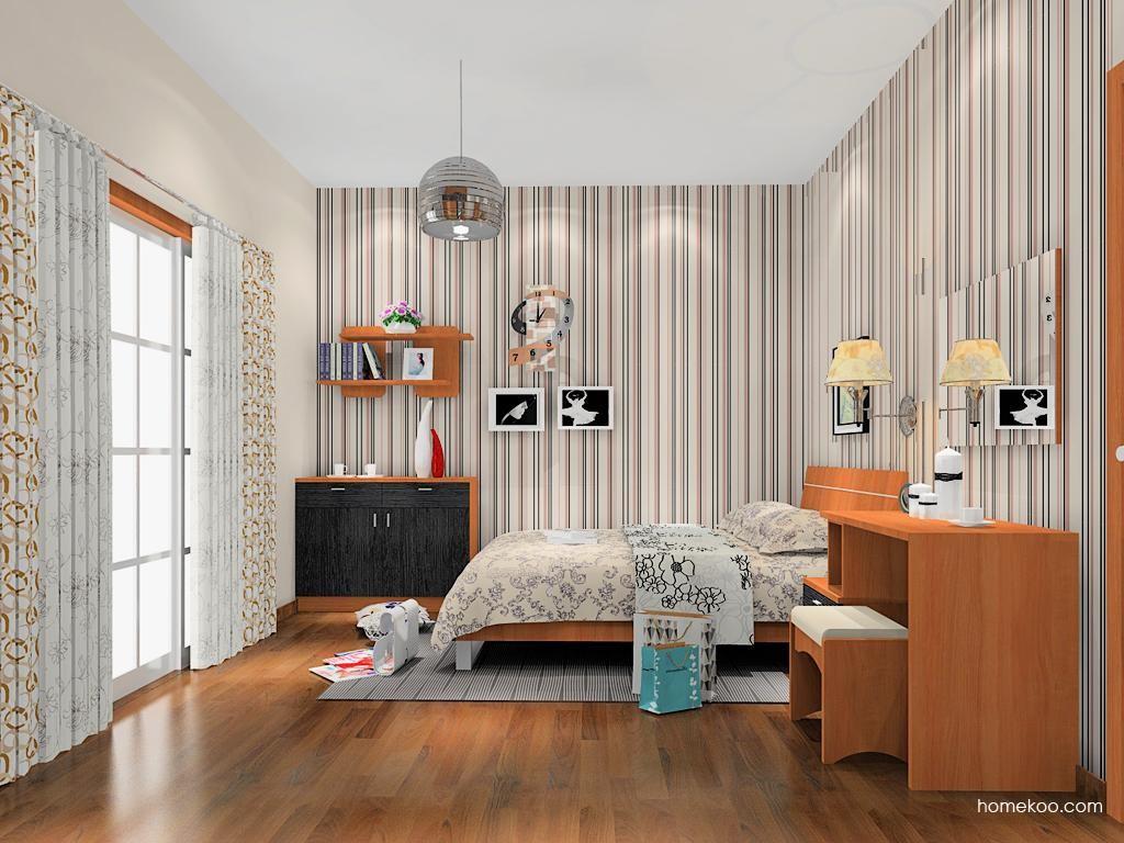 新实用主义卧房家具A11693