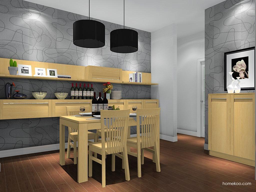 丹麦本色餐厅家具E8911