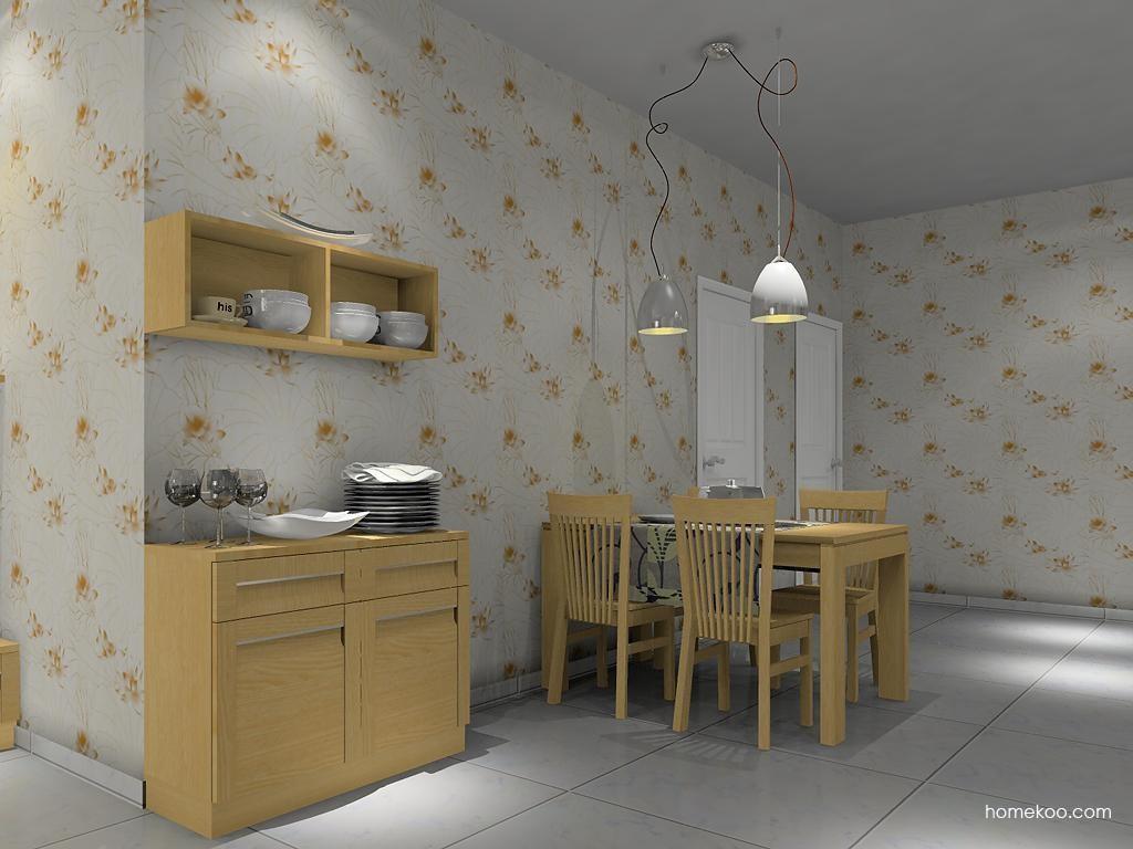 丹麦本色餐厅家具E8912