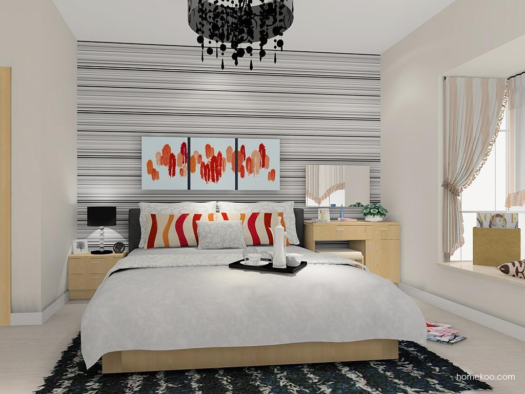 新实用主义卧房家具A11694